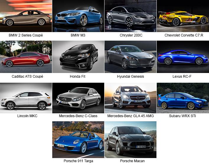Detroit 2014 Production Cars